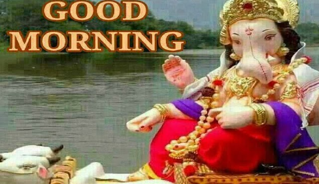 Ganesh Good Morning sms with Image