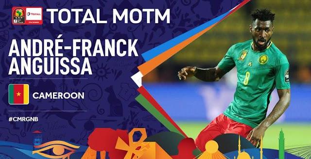 CAMEROUN - GUINÉE BISSAU 2-0 : ZAMBO ANGUISSA, HOMME DU MATCH