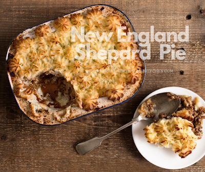 New England Shepard Pie Recipe with Stout