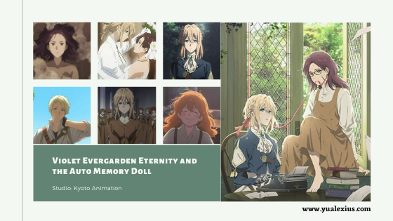 Violet Evergarden Eternity and the Auto Memory Doll Anime Movie 2019