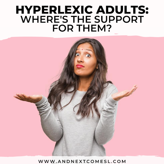 Hyperlexia in adults: where's their support?