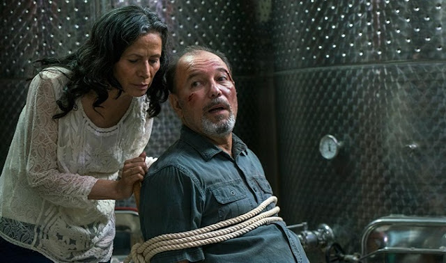"Salazar en el 2x07 ""Shiva"" de 'Fear the Walking Dead'"
