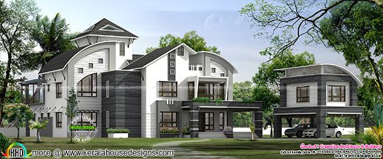 Luxury ultra modern home in 7000 sq-ft