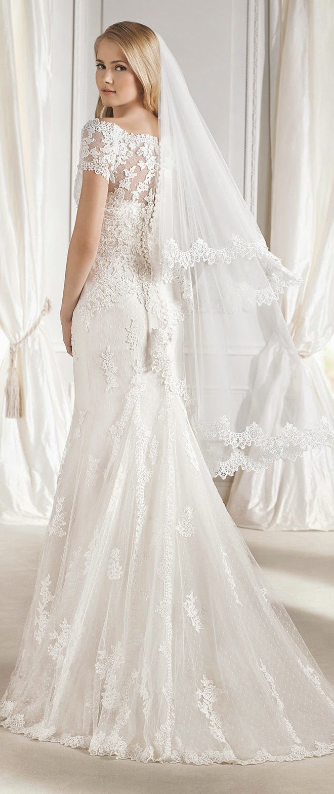 14ea15950b1 La Sposa Barcelona 2015 Bridal Collections - Belle The Magazine