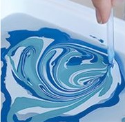 Marbled Glass Ware