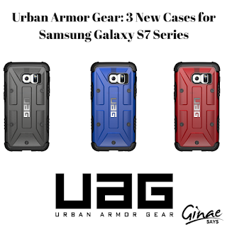Urban Armor Gear: 3 New Cases for Samsung Galaxy S7 Series