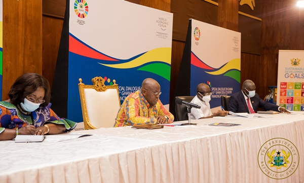 """""""Ghana Is A Prime, Ripe Destination For Doing Business"""" – President Akufo-Addo To Global CEOs"""