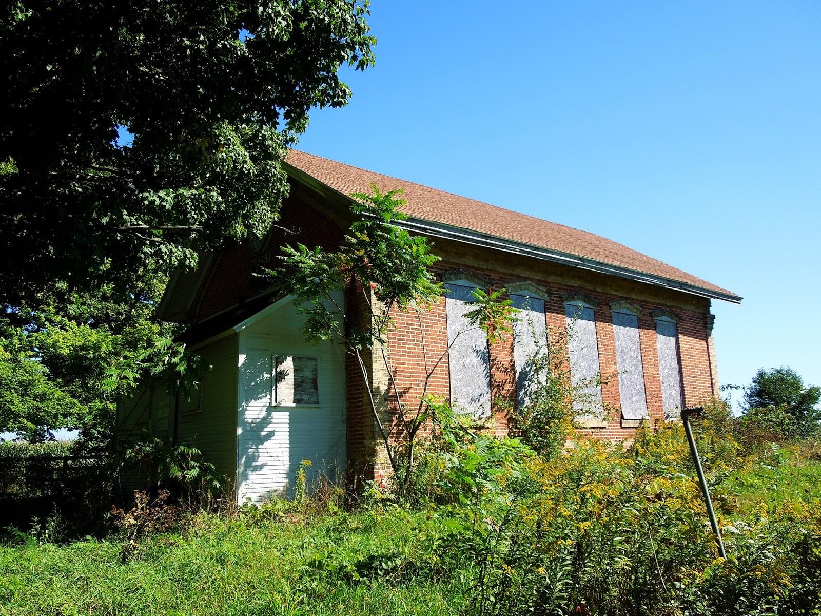 Michigan one room schoolhouses van buren county for 3 4 houses in michigan