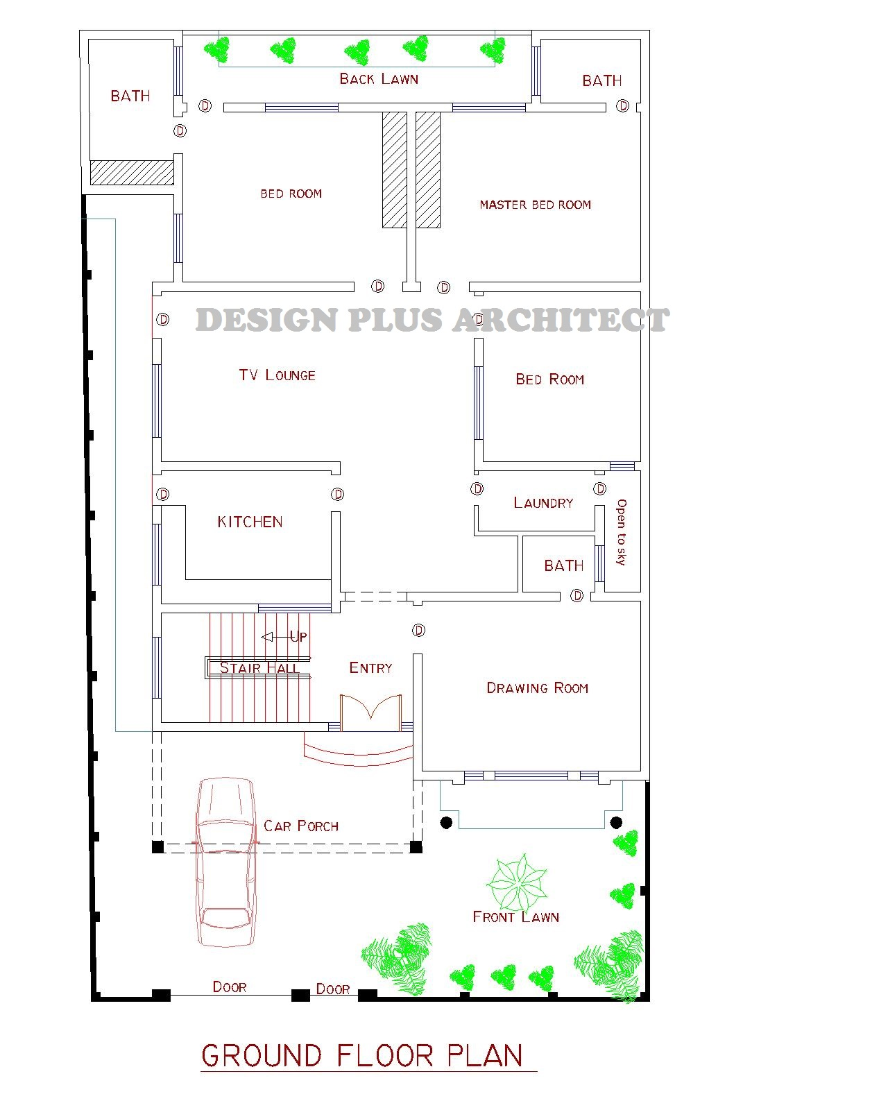 10 marla house designs pakistani home design and style for Home map design free layout plan in india