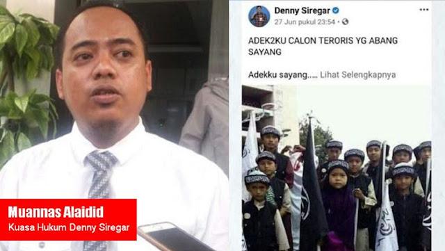 Pengacara Denny Siregar Sebut Kasus Santri Selesai, Polisi Bantah: Kasus Jalan Terus, Tidak Berhenti