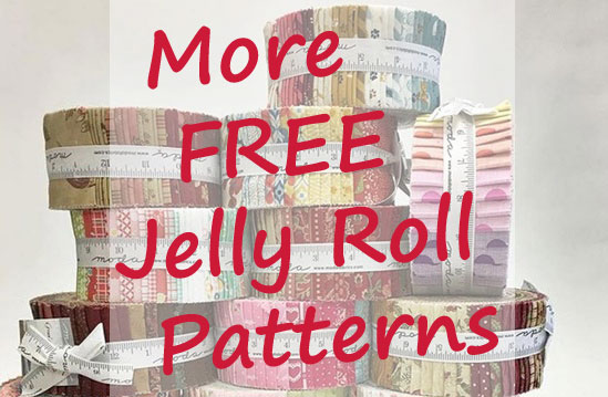 stack of jelly rolls for more free jelly roll patterns