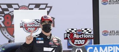 Kyle Busch dominates the Fr8Auctions 200 #NASCAR
