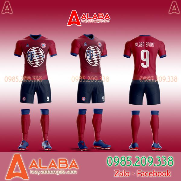Áo Bayern Tự Thiết Kế Đẹp 2019 mã ALB BA05