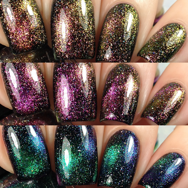 Lemming Lacquer-Magnetic Galaxy Trio