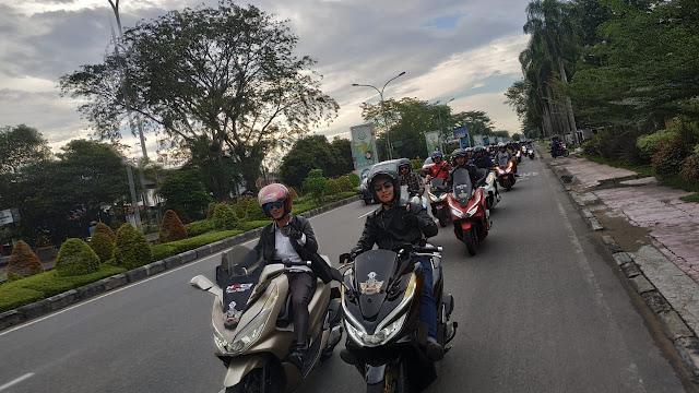 Manjakan Pengguna Honda PCX 150 Melalui Event PCX Luxurious Ride
