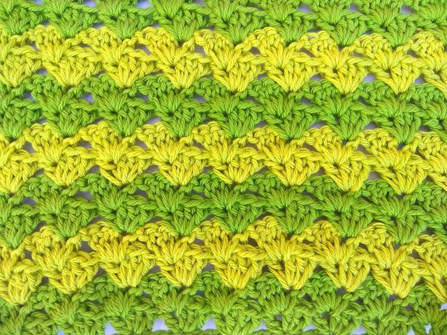 1 - Crochet Imagen Puntada a crochet a facil sencillo bareta paso a paso DIY puntada punto alto punto bajo