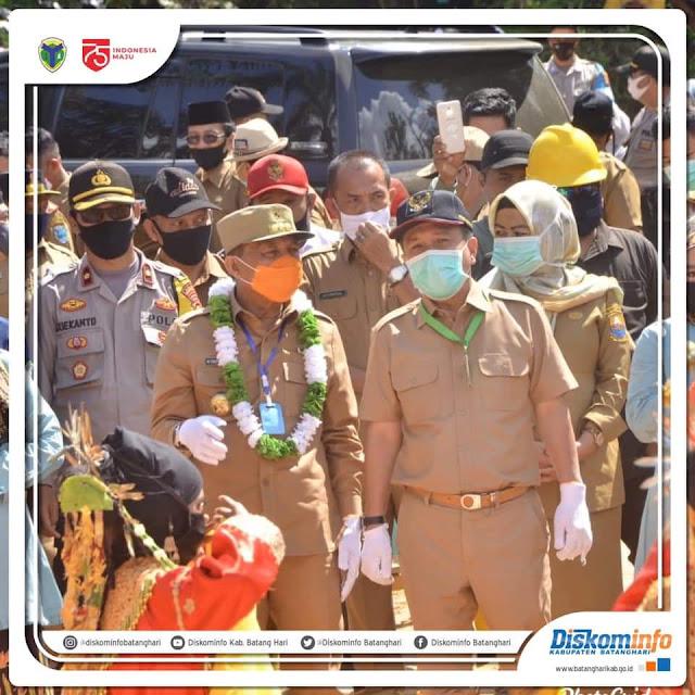 Syahirsah Dampingi Kunker Gubernur Jambi ke Desa Karya Mukti