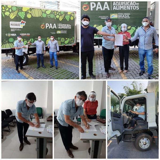 Belágua é contemplada com o um veículo para reforçar o Programa de Aquisição de Alimentos (PAA).