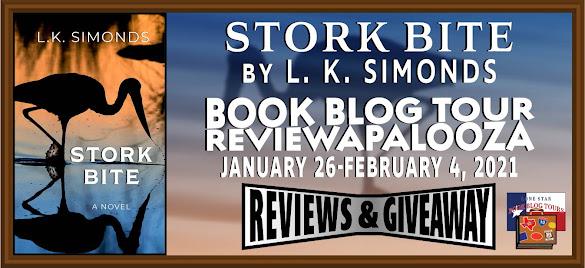 Stork Bite book blog tour promotion banner