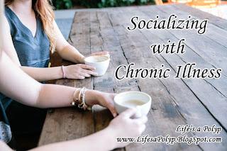 socializing with chronic illness