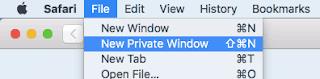 Bagaimana Cara Membuka Mode Penyamaran di Browser Safari?