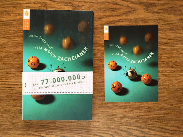 """Recenzje #116 - """"Lista moich zachcianek"""" - okladka książki pt. """"Lista moich zachcianek"""" - Francuski przy kawie"""