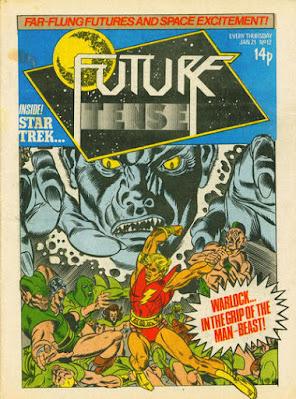 Future Tense #11, Adam Warlock