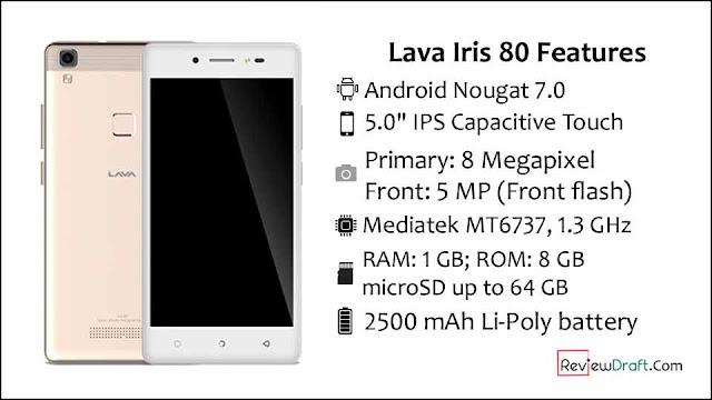 Lava Iris 80 S111 Flash File MT6737M 7.0 Firmware All Version S108,S109 Fix Dead Recovery Customer Care File