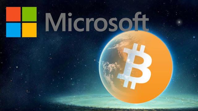 Microsoft entrou no mundo dos bitcoins