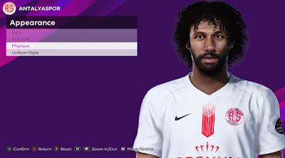 PES 2020 Faces Nazım Sangaré by Rachmad ABs