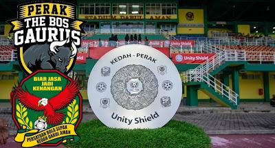 Harga Tiket Perak vs Kedah Unity Shield 2020