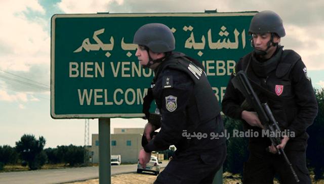 الشابة : إيقاف 5 أشخاص يشتبه في انتمائهم لتنظيم إرهابي
