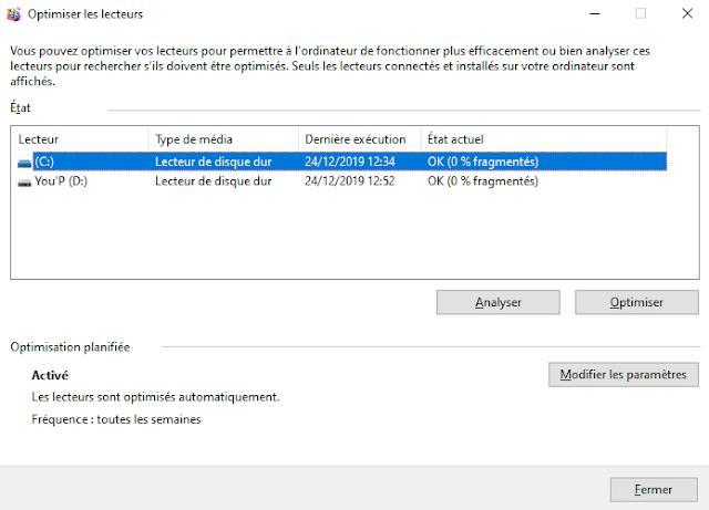Comment optimiser Windows 10