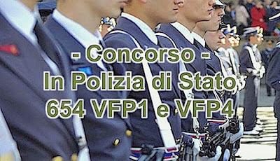 Concorso Ministero dell'Interno, assunzioni Polizia di Stato