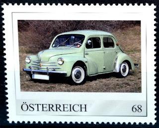 Renault 4 CV, Oldtimer, Automobil
