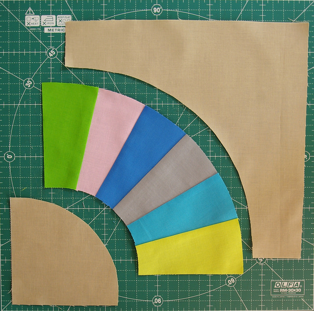 Red Pepper Quilts Color Wheel Block Pattern And Tutorial