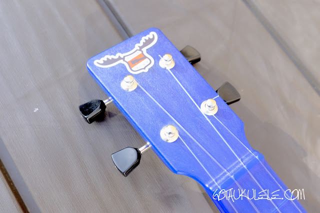 Outdoor Nickel Tenor Ukulele headstock