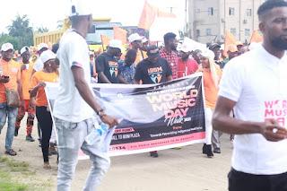 MUSICIANS DEFY RAIN TO MARK WORLD MUSIC DAY IN AKWA IBOM STATE
