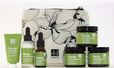 hemp face skin care