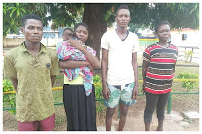 Finally, Police Rescue 2-Year-Old Boy Sold For N500,000
