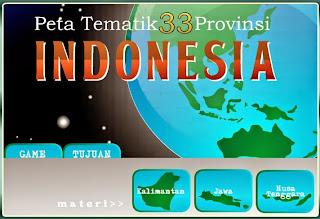 [Media Belajar] Propinsi di Pulau Kalimantan, Jawa dan Nusa Tenggara