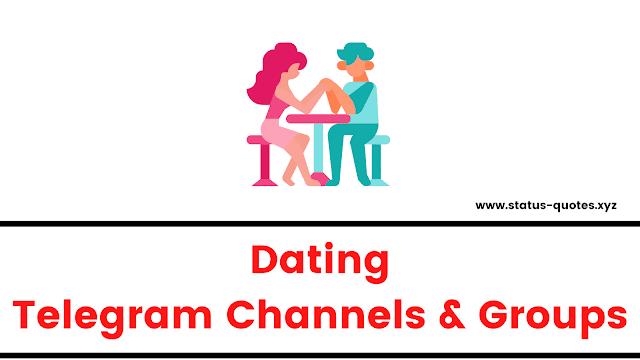 Telegram Dating Groups & Channels