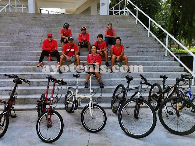 Gowes Bersama Anggota Pelatnas Tenis, Ini Manfaat Bersepeda Menurut dr. Samuel Lucas Simon, Sp.KK
