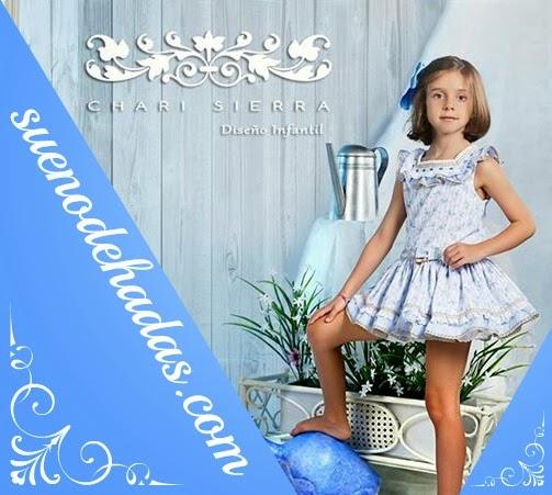 Vestido niña estampado floral - Chari Sierra
