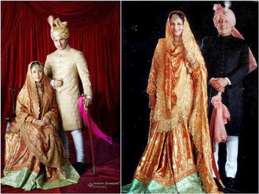 Kareena Kapoor's vintage wedding outfit