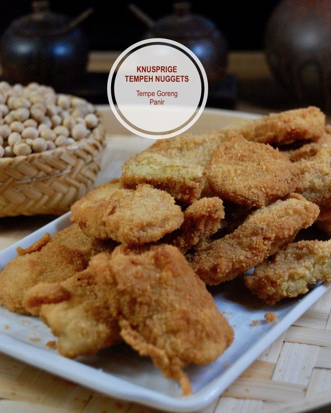 Rezept Vegane Nuggets aus Tempeh