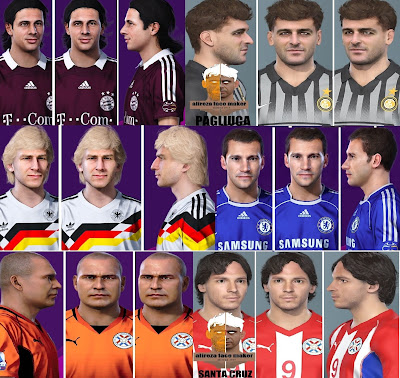 PES 2021 Facepack Legends 2 by Alireza