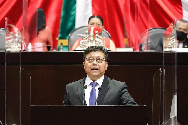 Fundamenta Rubén Cayetano la minuta relativa a las leyes secundarias de la reforma al Poder Judicial de la Federación
