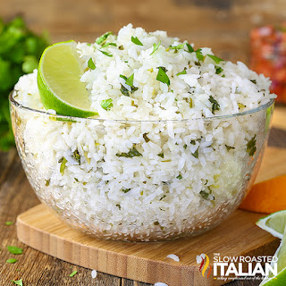Chipotle Copycat Cilantro Lime Rice