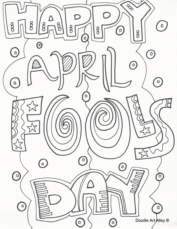 april printable coloring pages - photo#34